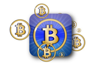 icon new currency bitcoin