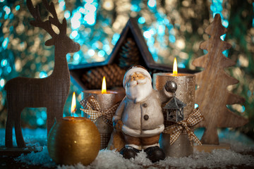 Bilder und videos suchen weihnachstschmuck - Blaue christbaumkugeln ...