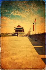 Xian - ancient city wall
