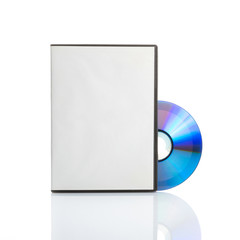 Blank dvd with cover