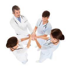 Doctors Stacking Hands