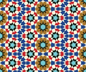 Taza Seamless Pattern Five