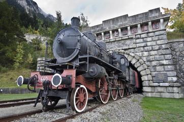 Old locomotive of Frejus