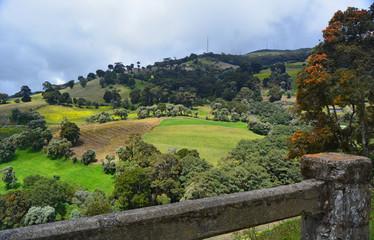 Paysage du Costa Rica - Flanc de l'Irazu