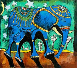 Синий слон