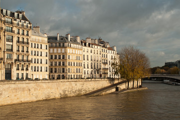ile Saint-Louis à Paris