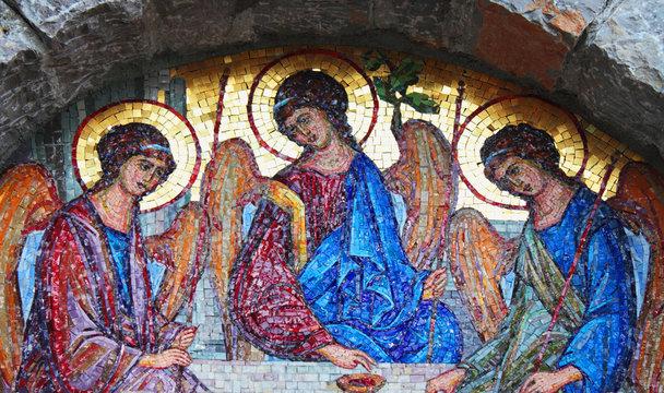 holy trinity mosaic