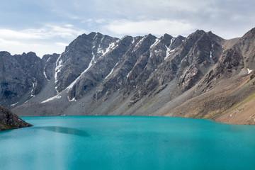 Wall Mural - Ala-Kul lake in Kyrhyzstan