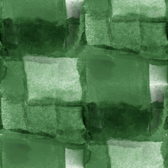 seamless cubism green abstract art Picasso texture watercolor wa