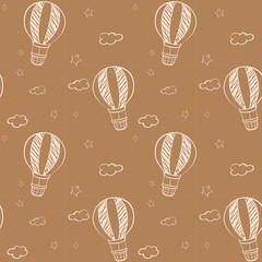 Seamless design of floating balloons