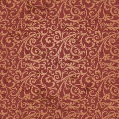 Grunge retro wallpaper, vector seamless pattern