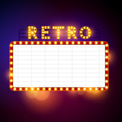 Retro Vintage Billboard