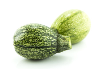 fresh zucchini fruits