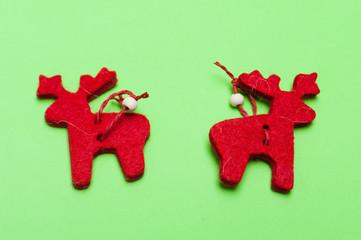 Christmas ornaments. Handmade crafts