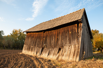Vintage rustical barn