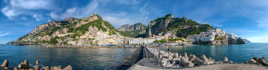 Photo sur Aluminium Cote amalfi
