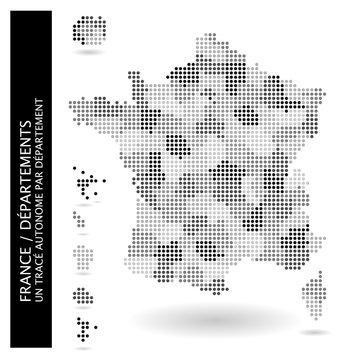 Carte de France (Départements)
