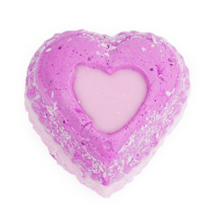 Love cupcakes with hearts