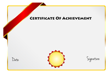 Certificate Of Achievement Diploma Of Excellence Certificate