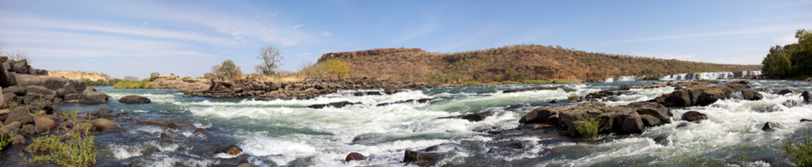 Gouina Falls on the river near Kayes