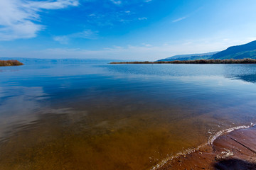 Fototapete - Landscape of Kinneret Lake - Galilee Sea