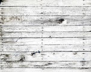 Fototapete - white wooden texture