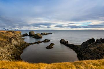 Steilküste in Breiðavík