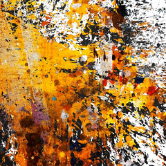 Wall Mural - grunge paint background
