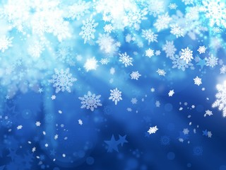 xmas snoflakes abstract winter background