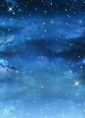 beautiful Nightly sky with stars