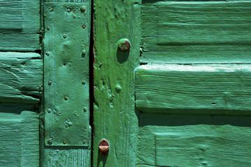 lanzarote abstract door wood green