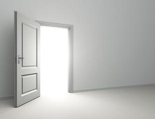 open door interior room