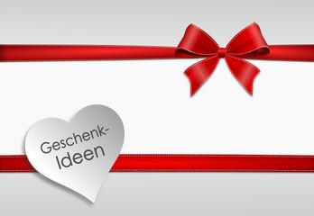 Karte Valentinstag Geschenkidee