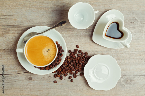 кофе чашка блюдце  № 2172548  скачать