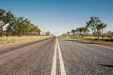 Road in Queensland, Australia