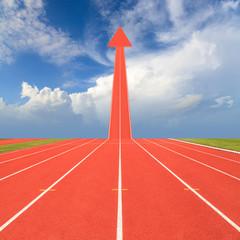 Fototapete - Running track