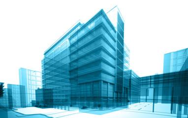 transparent building