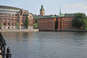 Swedish parliament buildings