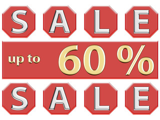 Sale up to 60 %