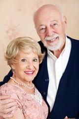 Sophisticated Senior Couple