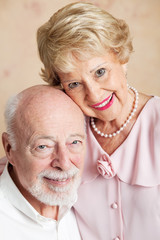 Portrait of Senior Husband and Wife