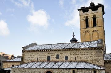 Iglesia románica de San Justo, Segovia (España)