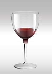 Glas Weinglas voll Glas volles Weinglas