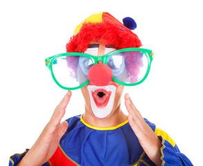 Joker With Funny Eyeglasses
