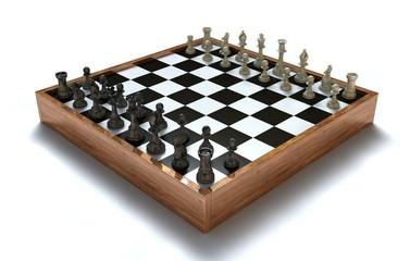 Schach - Startaufstellung