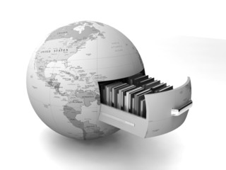 Global data security - concept