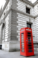 London telephon box