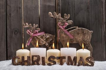 weihnachten rustikal