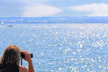 Fernweh, Blick auf den See
