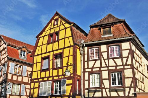 Colmar alsazia case tradizionali immagini e for Case tradizionali